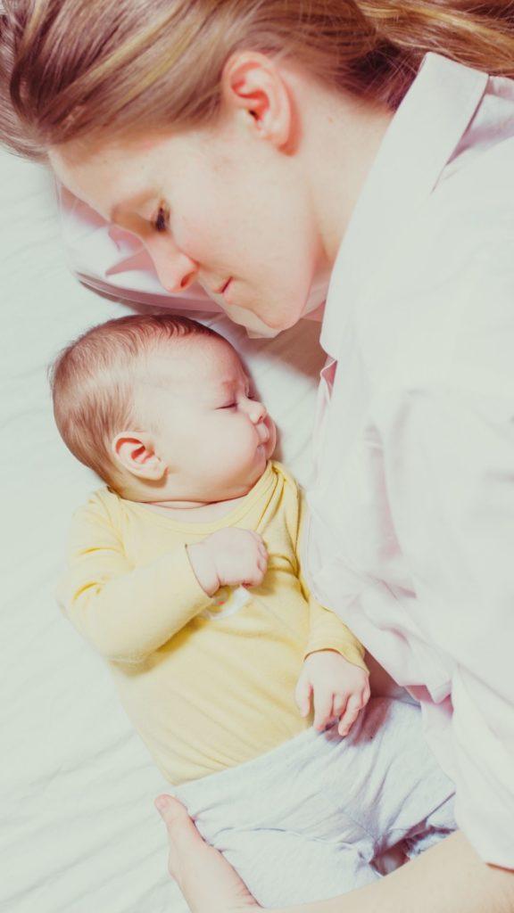 Samen slapen | Moeder - Baby