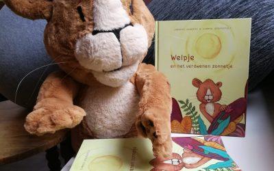 Welpje en het verdwenen zonnetje, een kinderboek met een missie.